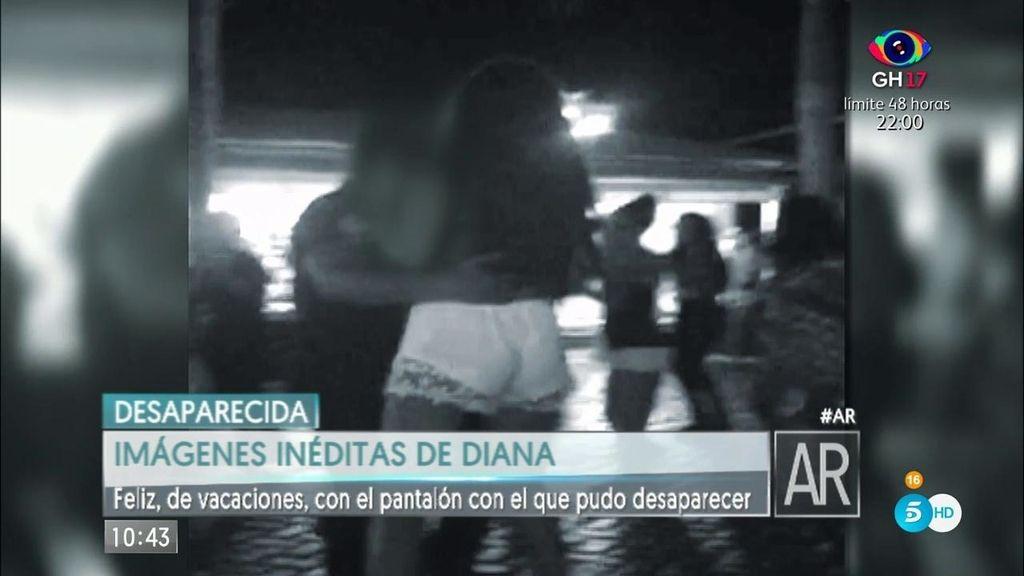 Imágenes inéditas de Diana con el pantalón con el que podría haber desaparecido