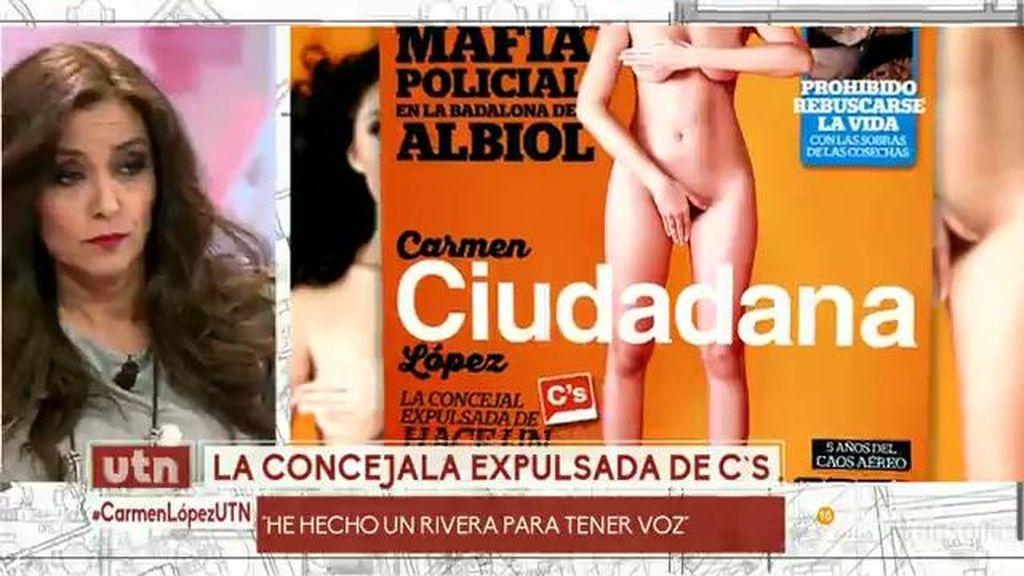 Carmen López He Salido Desnuda En Interviu Para Tener Voz Frente A
