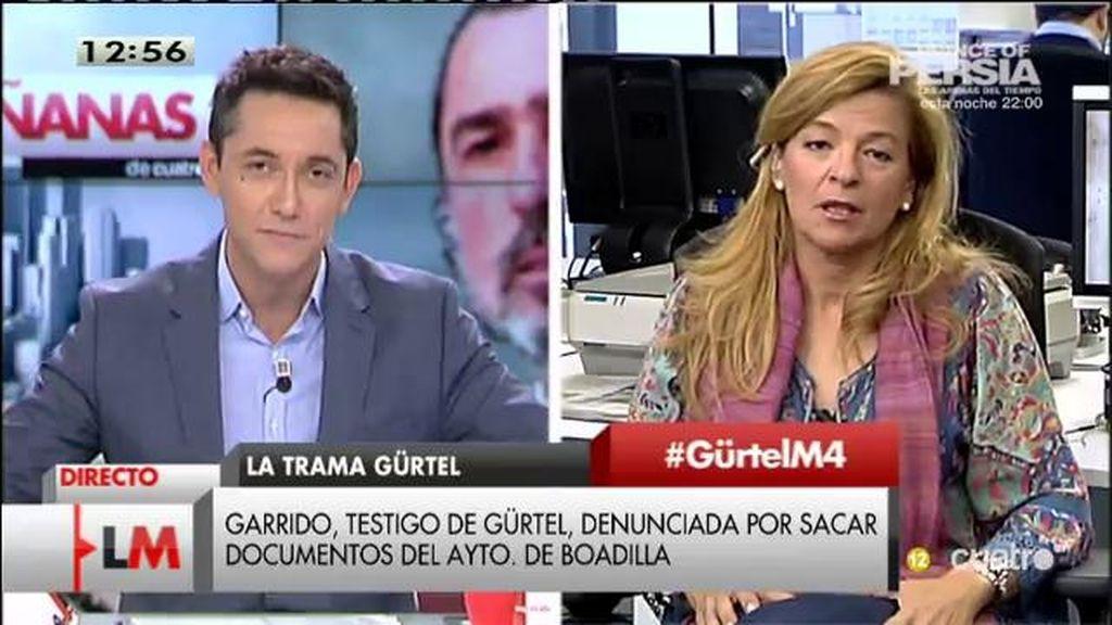 """A. Garrido: """"Esto es una mafia organizada en contra de los que denunciamos la corrupción"""""""
