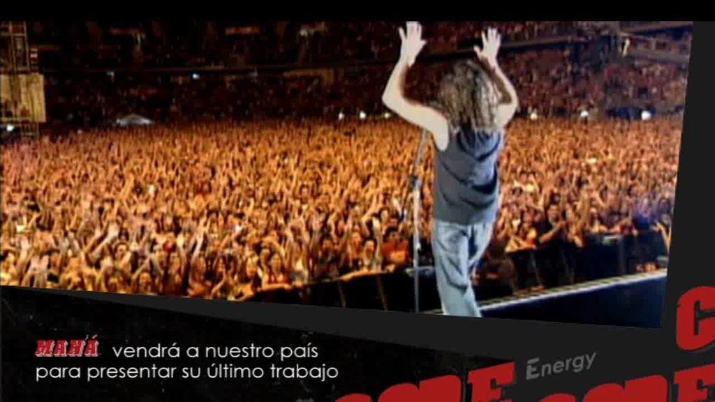 """Energy Code 124: Maná regresa a los escenarios españoles con su gira """"Cama Incendiada Tour"""""""