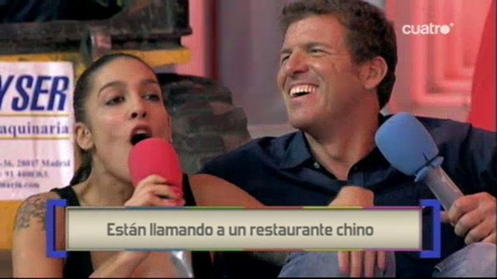 Lentejas estofadas para Mario Picazo y Lorena Castell