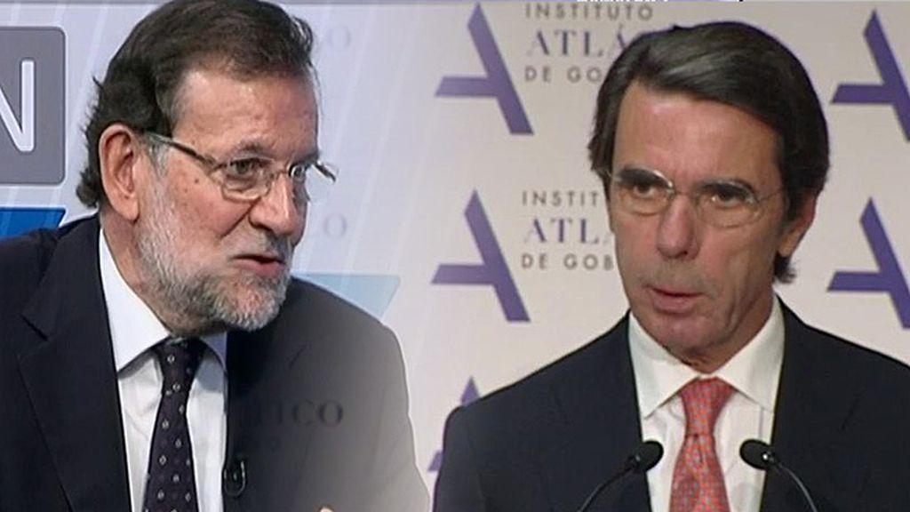Los desencuentros de Rajoy y Aznar