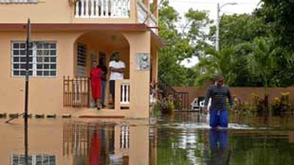 Las consecuencias del paso de Irene por Puerto Rico. Foto: REUTERS