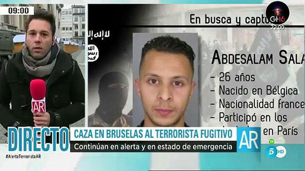 """Continúa la """"caza al terrorista"""" en Bruselas"""