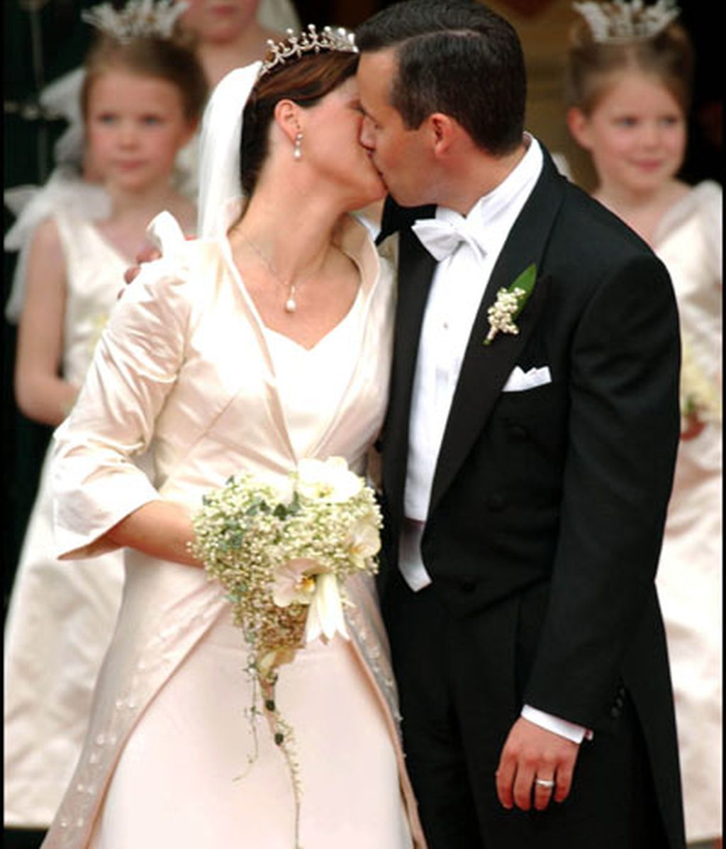 La princesa Marta Luisa de Noruega y Ari Behn