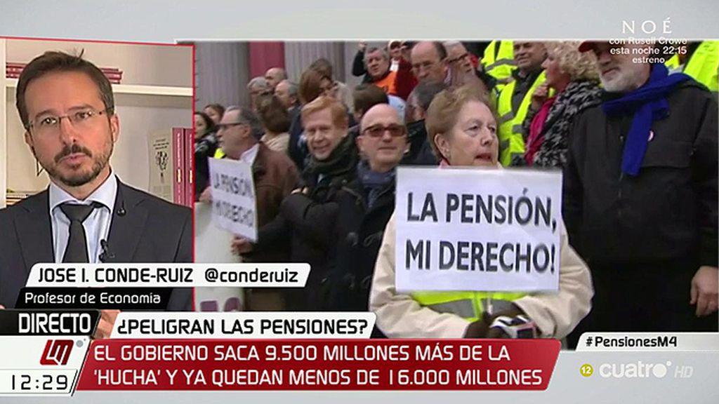 """Experto en pensiones: """"La situación del fondo de reserva es muy preocupante"""""""