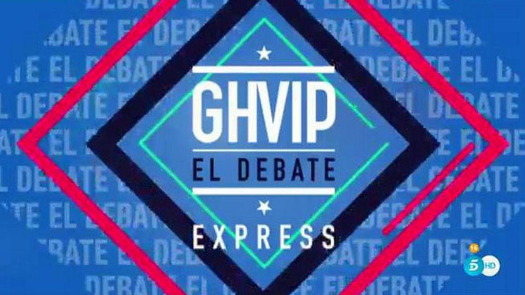 El debate de 'GH VIP' (24/01/16)
