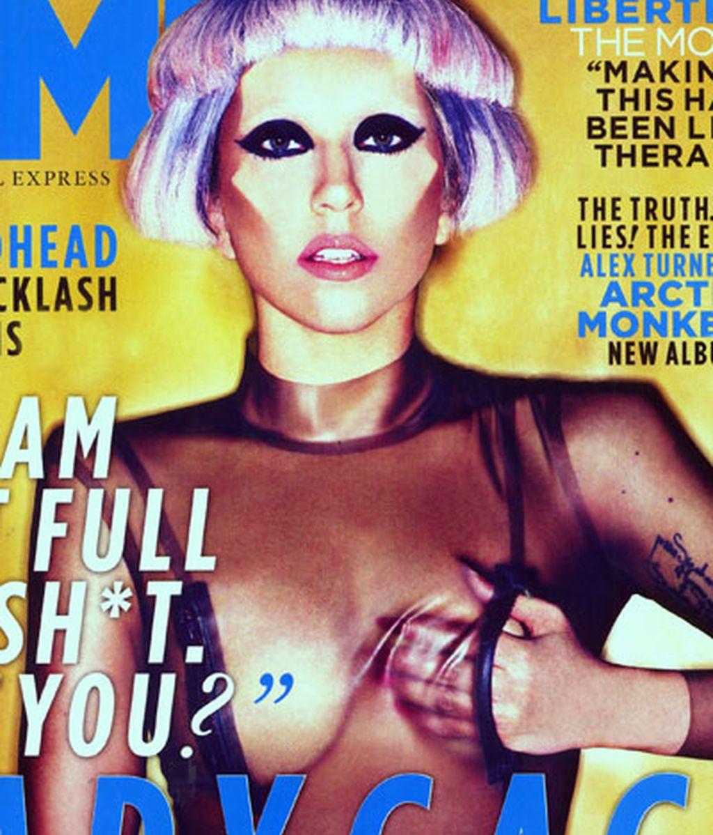 Lady Gaga, deformada