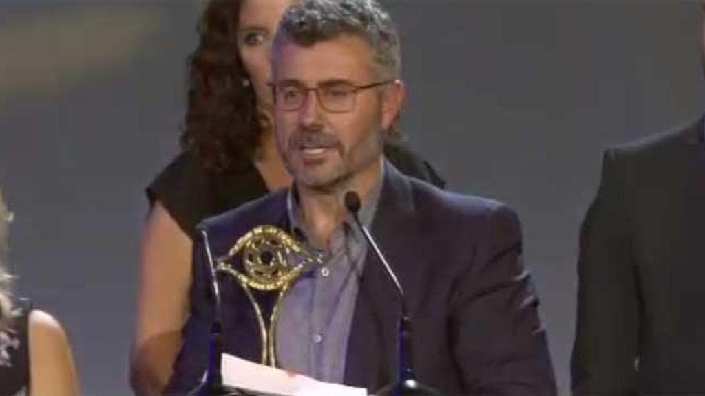 Miguel Ángel Oliver y su equipo, premiados por la cobertura de la crisis de refugiados