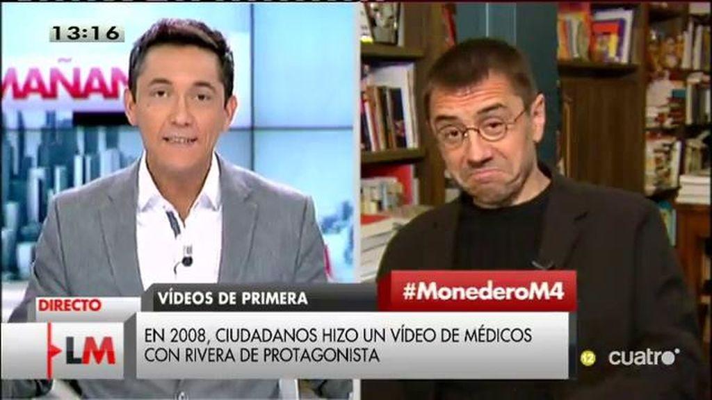 """Monedero: """"Ciudadanos se parece más a las 'Spice Girls' que a un grupo político"""""""