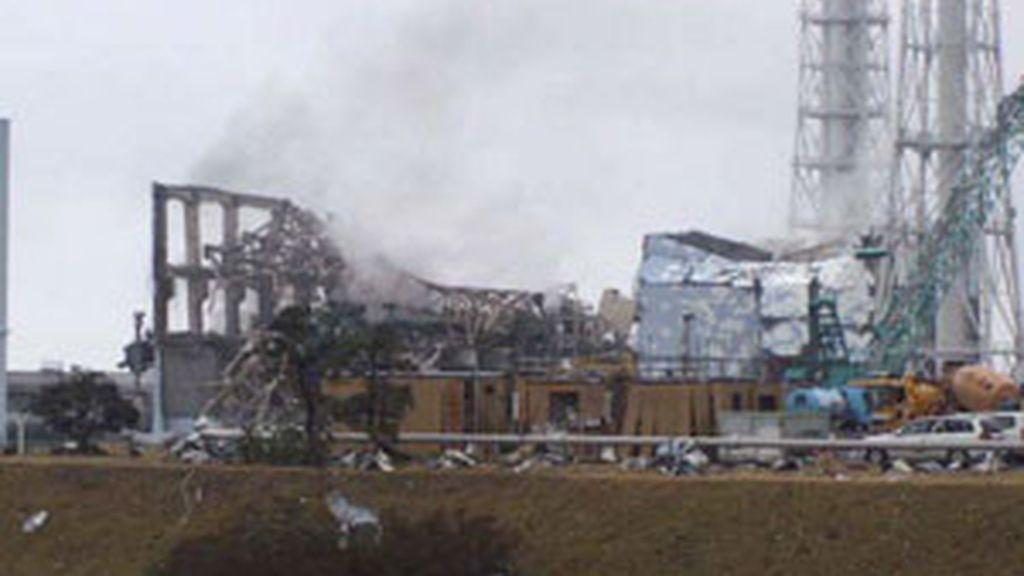 La central de Fukushima sigue sin control. Foto: EFE