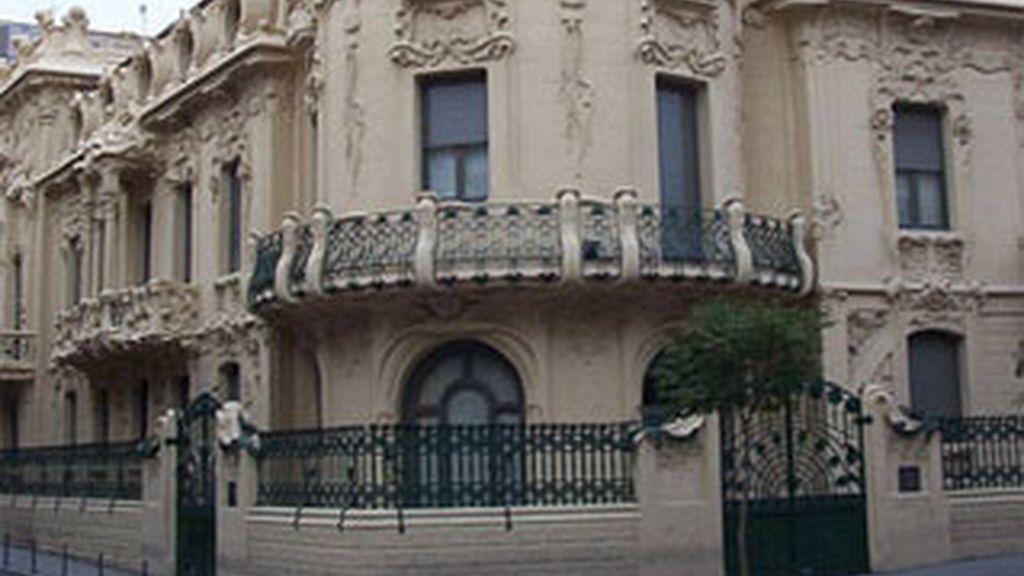 Sede de la SGAE, en Madrid