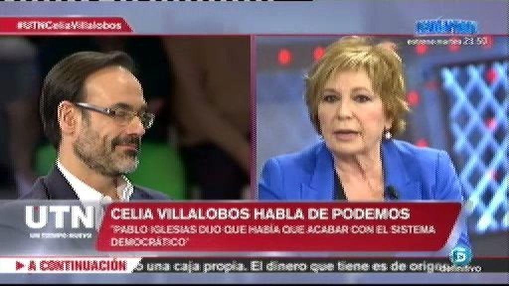 """Villalobos: """"Yo creo que Rodrigo Rato no se ha llevado un duro que no sea suyo"""""""