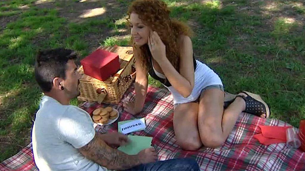 Un picnic muy romántico