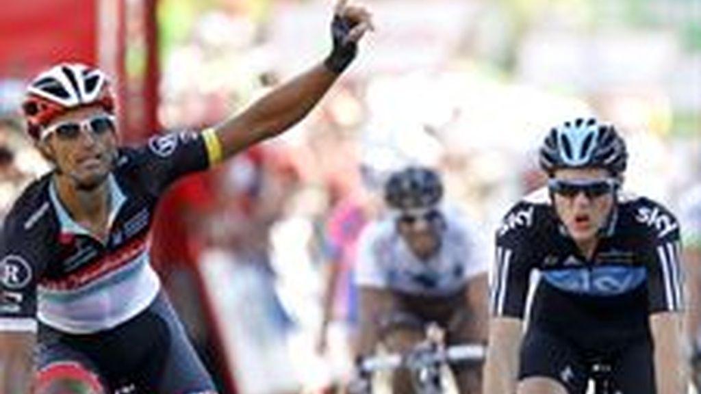 El italiano Bennati logra al fin su triunfo de etapa