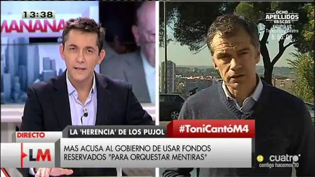 """Toni Cantó: """"Mas ya desobedeció al Tribunal Supremo y no pasó nada"""""""