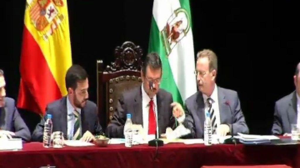 Ciudadanos retira a última hora su apoyo al PSOE y mantiene al PP en Almería