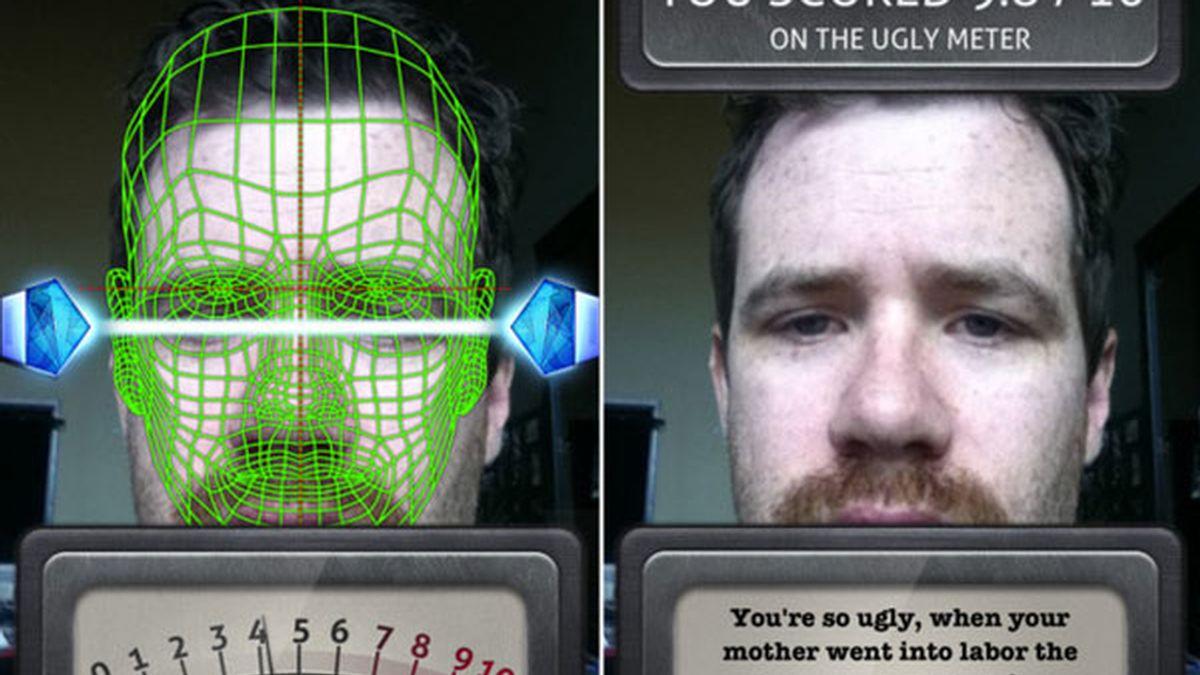 Ugly meter, aplicación, Apple Store, iPhone
