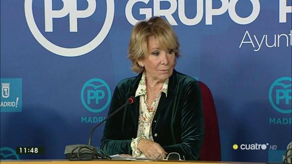 """Aguirre: """"La intervención de 'Posemos' fue muy demostrativa de las ideas que defiende"""""""