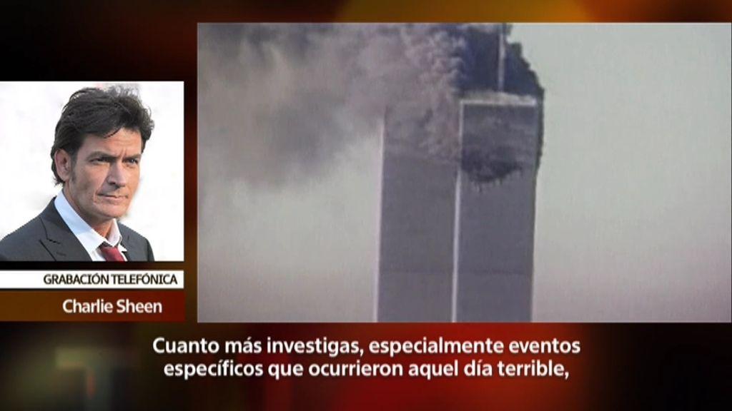 Charlie Sheen y Woody Harrelson, implicados en la búsqueda de la verdad sobre el 11-S