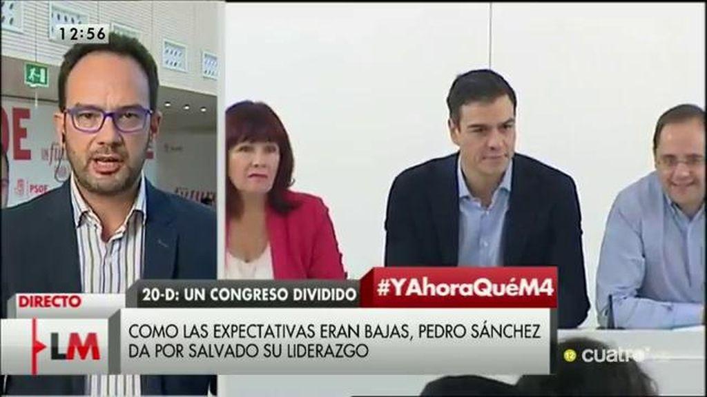 """Antonio Hernando: """"Vamos a votar en contra de la investidura de Rajoy por coherencia"""""""