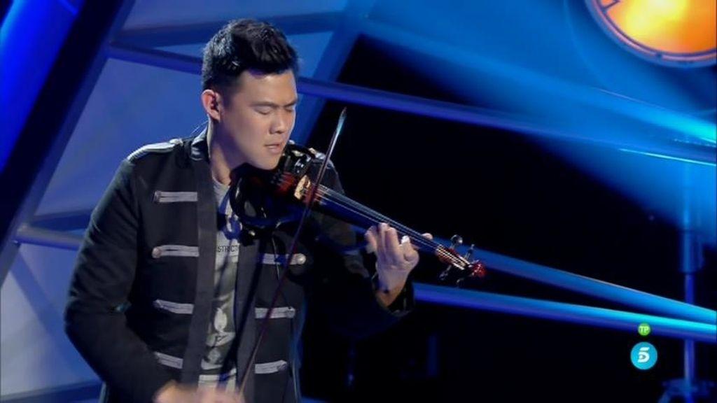 De Vivaldi a Martin Garrix, Javi Lin: ¡el hombre orquesta al violín!