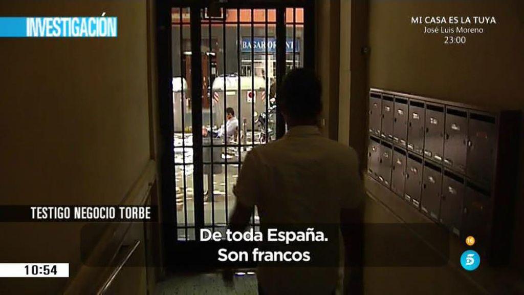 'AR' localiza uno de los pisos de Barcelona de Torbe donde se ejercía la prostitución