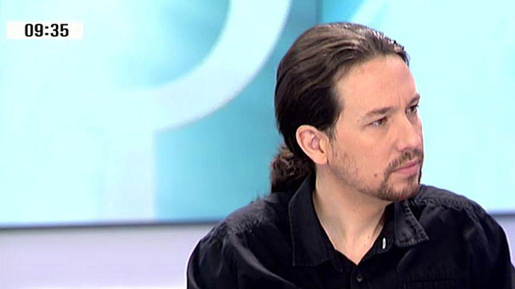 "Pablo Iglesias: ""Me veo en Moncloa. Se respira remontada y vamos a ganar"""