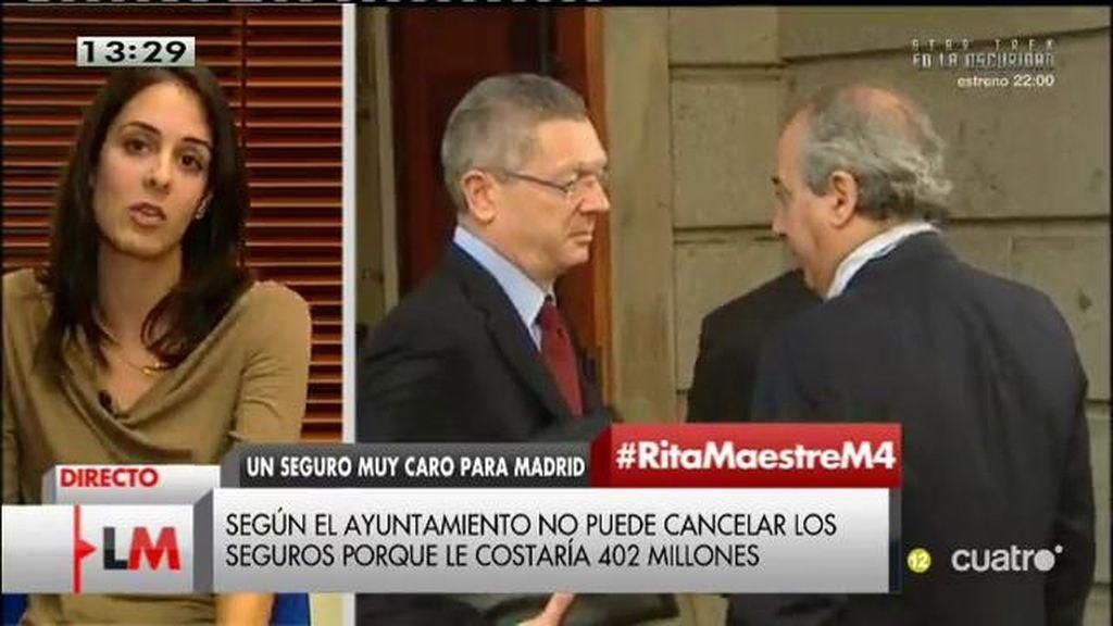 """R. Maestre: """"No se han utilizado con rigor los recursos del ayuntamiento de Madrid"""""""