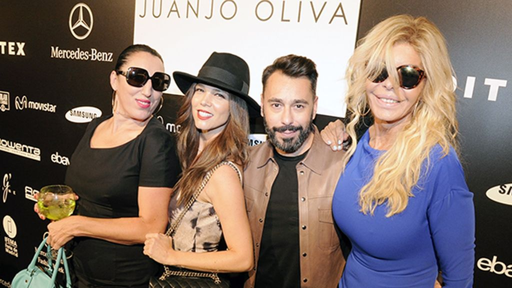 Póker de ases: Rossy de Palma, Juana Acosta, Juanjo Oliva y Bibiana Fernández