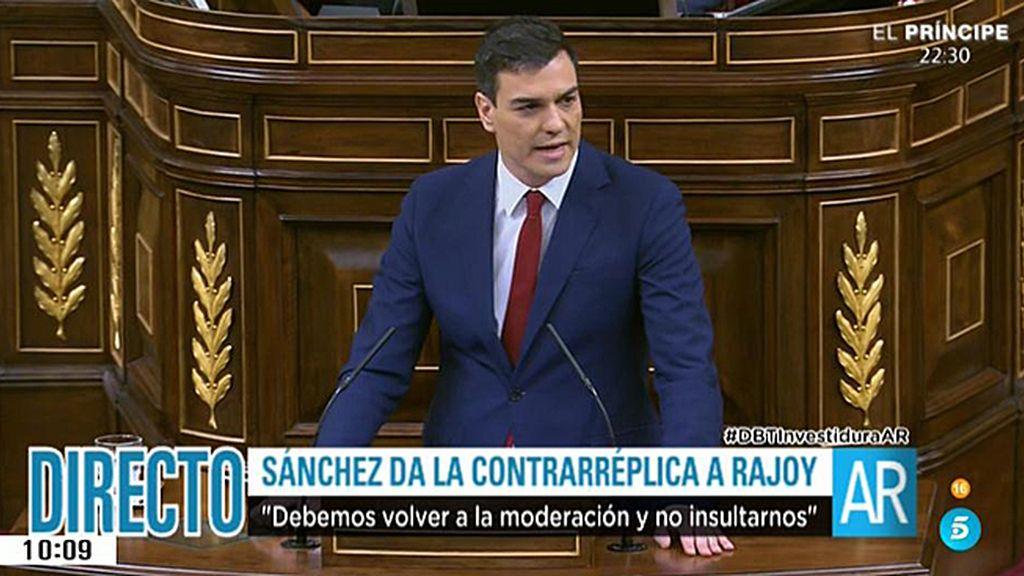 """Sánchez, a los diputados populares: """"Si soy presidente, les tenderé la mano"""""""