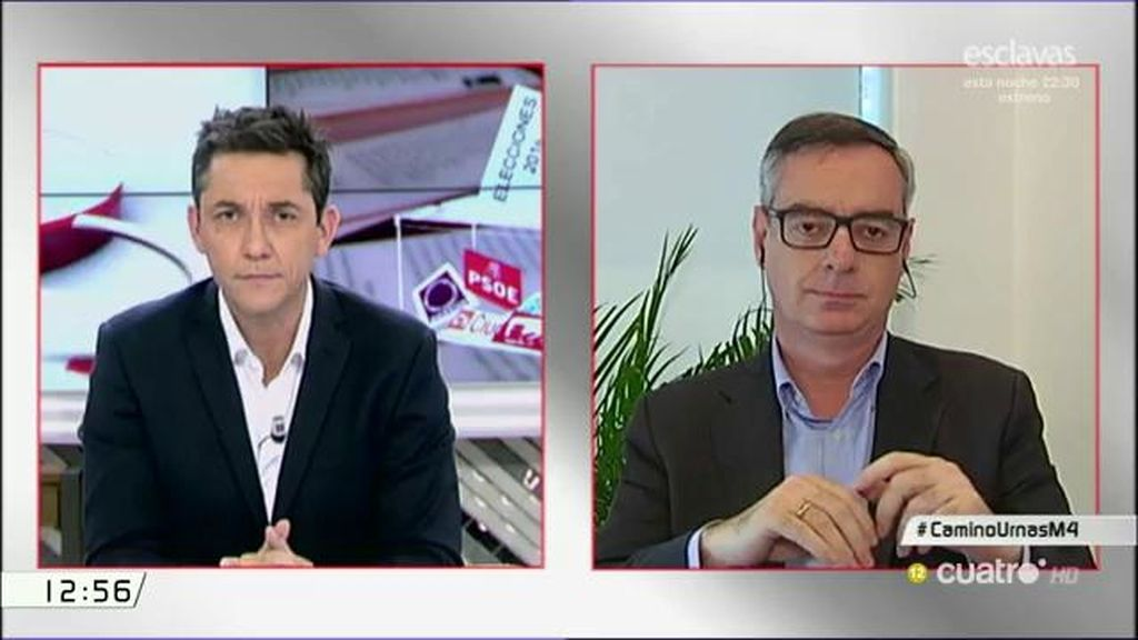 """José Manuel Villegas (C's): """"El problema que tenemos en España no es la afiliación de los jueces sino que se ha robado"""""""