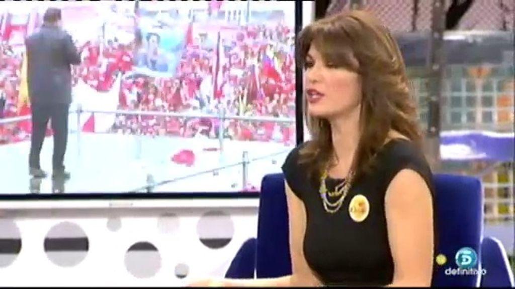 """Fabiola: """"No me gusta que Bertín hable de política ni de mi país"""""""