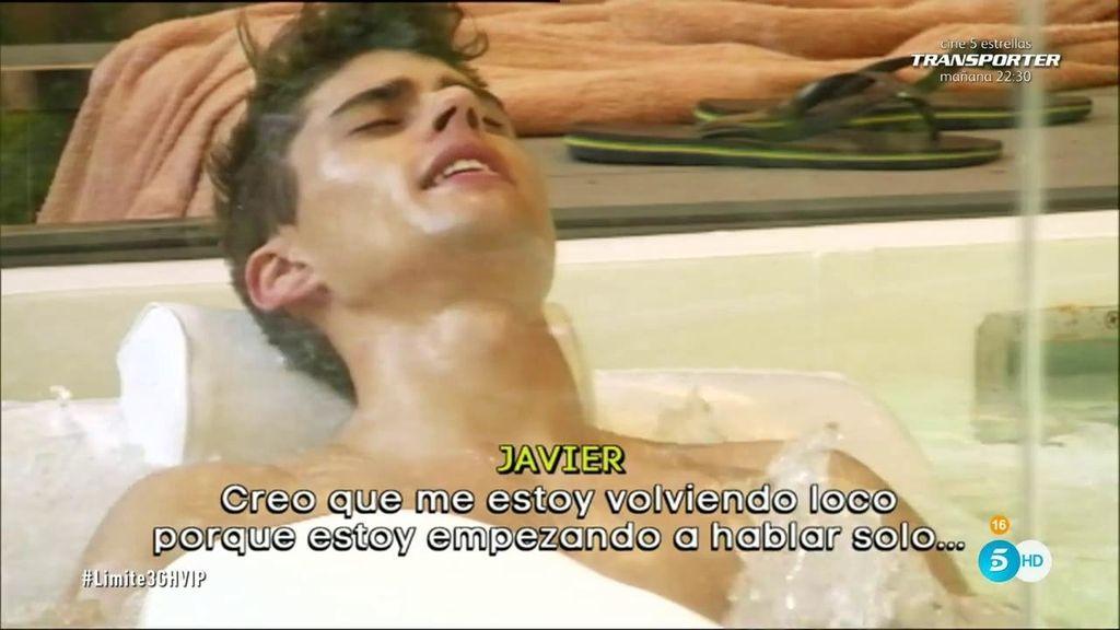 "Javier: ""Me estoy volviendo loco"""