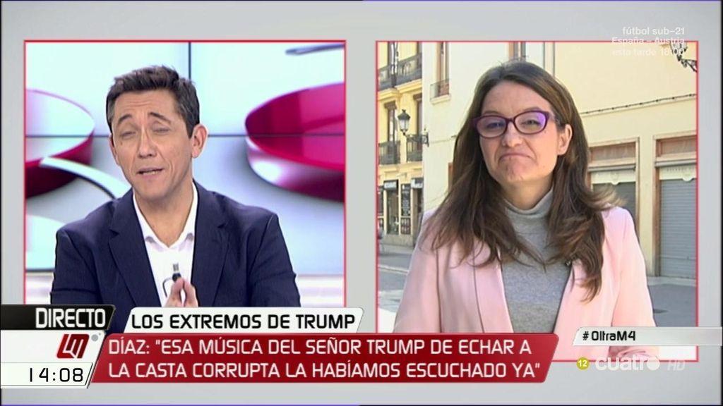 """Mónica Oltra se defiende de las acusaciones: """"¿Querer echar a los corruptos de las instituciones es 'populismo'?"""""""