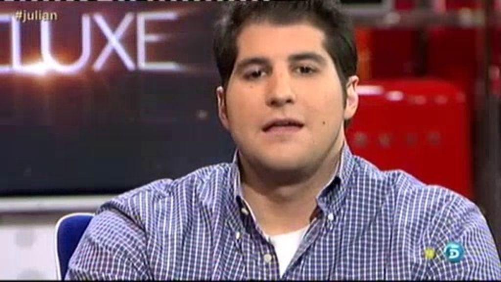 """Julián Contreras Jr.: """"No soy un maniaco con tendencias suicidas"""""""