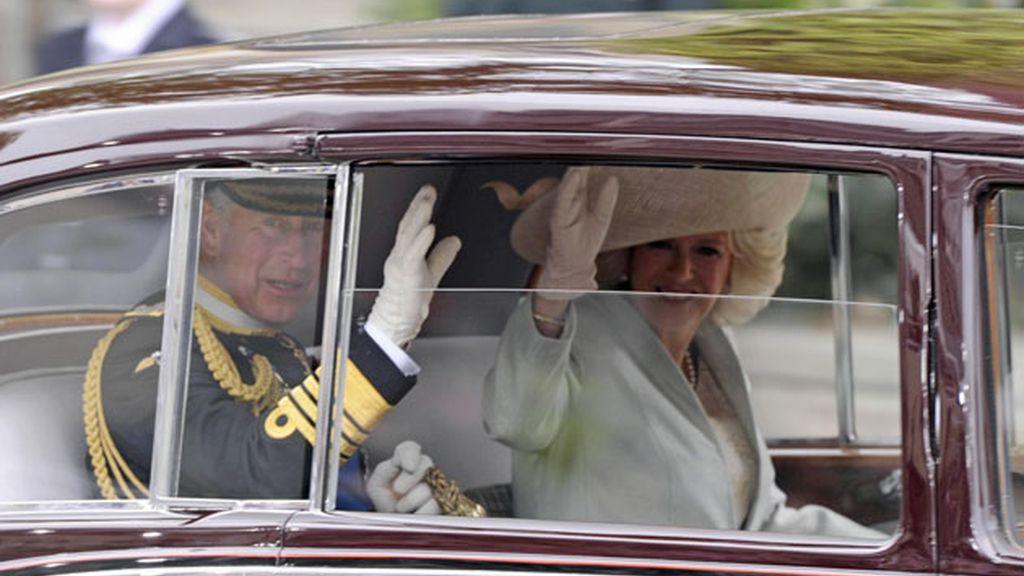 Carlos de Inglaterra y Camila