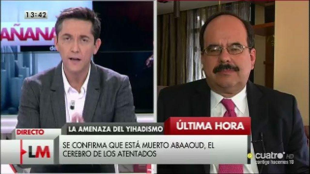 """Alberto Fernández, experto en yihadismo del gobierno de EE.UU: """"Buscan la espectacularidad"""""""