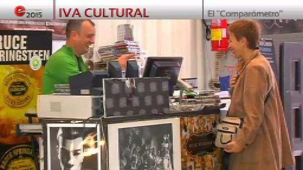 Comparómetro electoral: IVA cultural