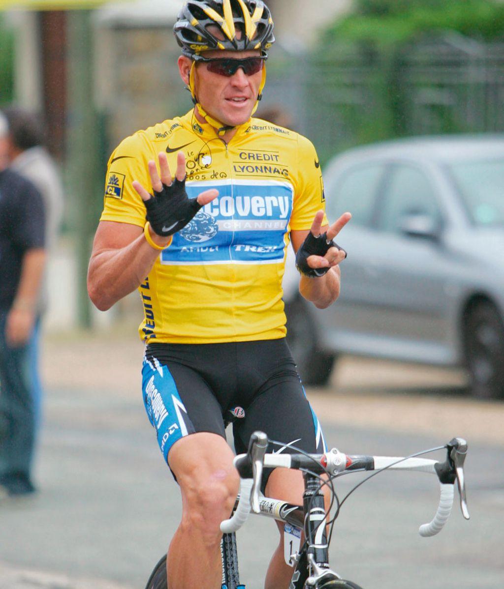 Lance Armstrong celebra su séptimo Tour de Francia
