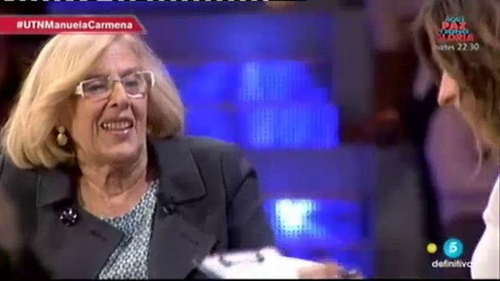 """Carmena responde a Aguirre: """"Lo que desestabiliza la democracia es la corrupción"""""""