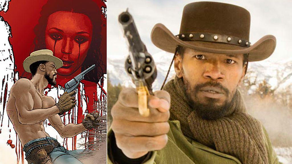 El Romeo justiciero, Jamie Foxx en 'Django desencadenado'