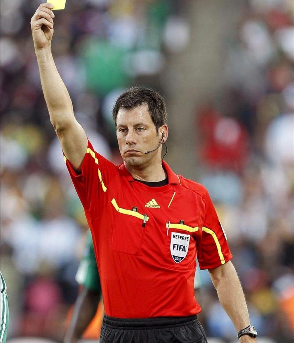 El árbitro alemán Wolfgang Stark. EFE/Archivo