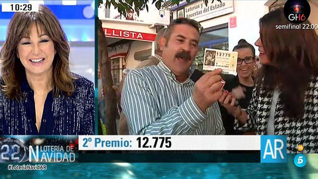 Hablamos con agraciados del segundo premio, el 12.775, en un pueblo de Sevilla