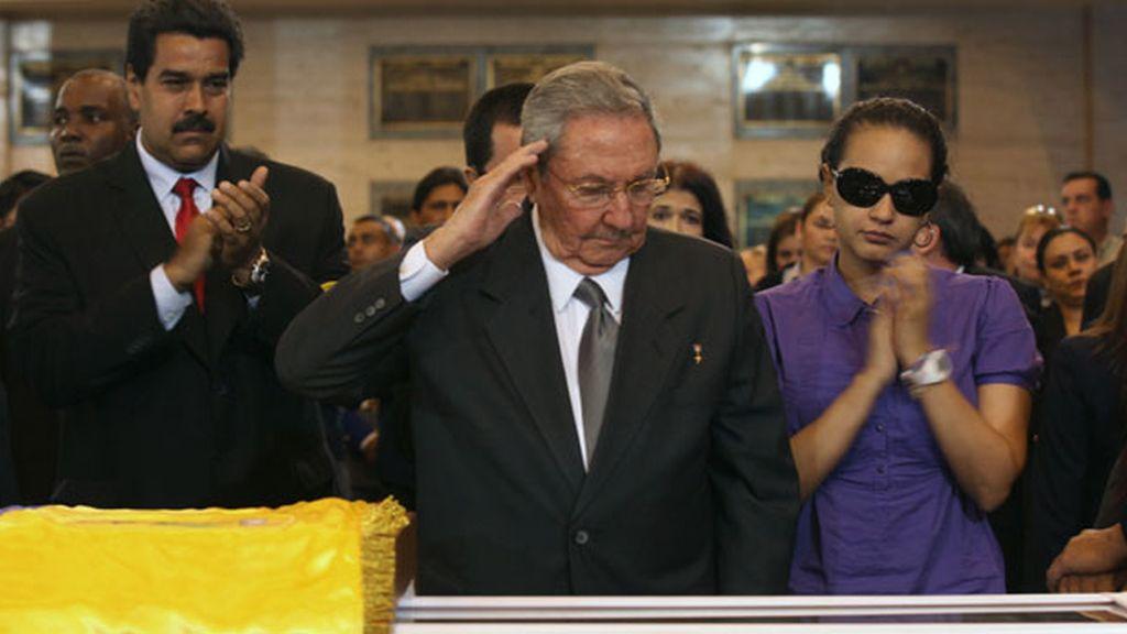 El último adiós a Chávez