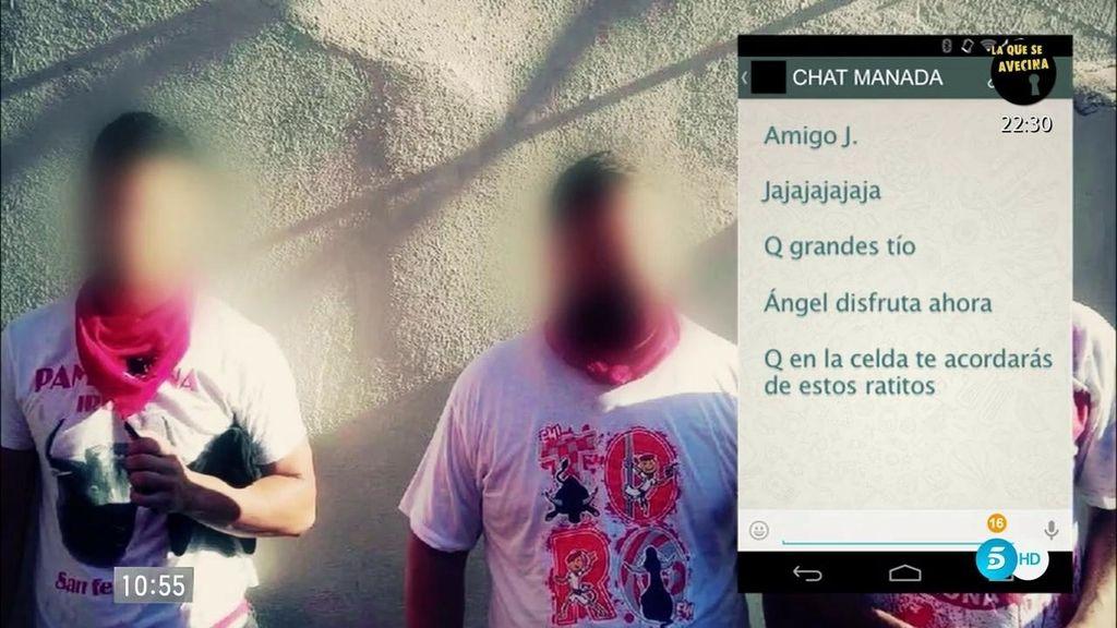 """Un participante del chat 'la Manada': """"Violaría a una rusa que viese despistada"""""""