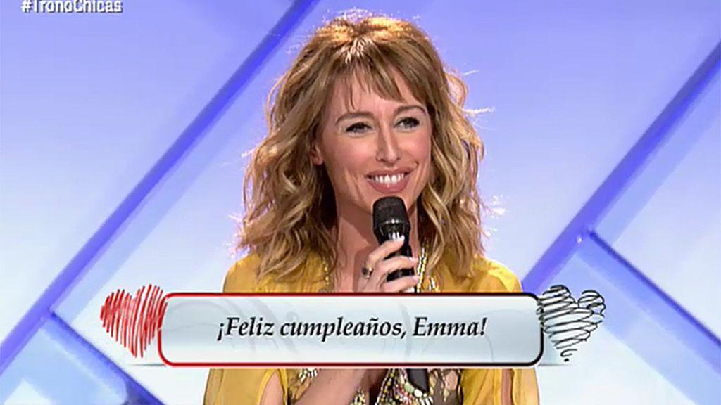 """Emma García: """"Quiero cumplir 50 en 'Myh"""""""