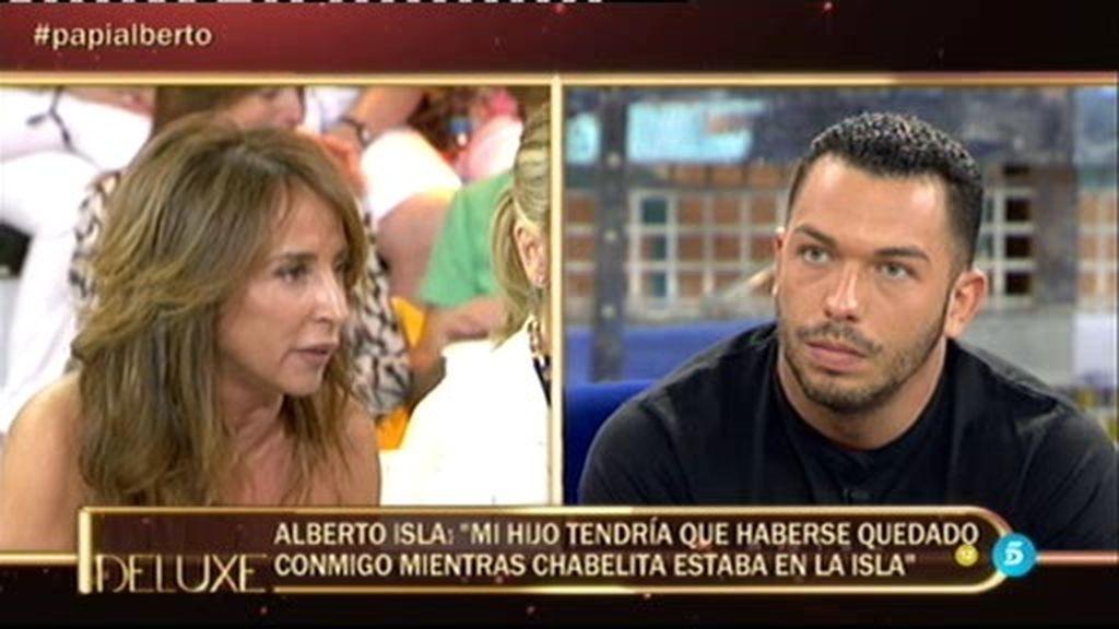 "Alberto Isla, sobre la custodia: ""Yo siempre he querido estar con mi hijo"""
