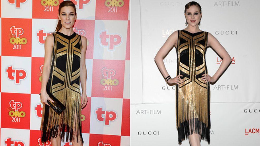 Reinventando el vestido 'años 20' de Gucci: Sanchez Silva y Evan Rachel Wood