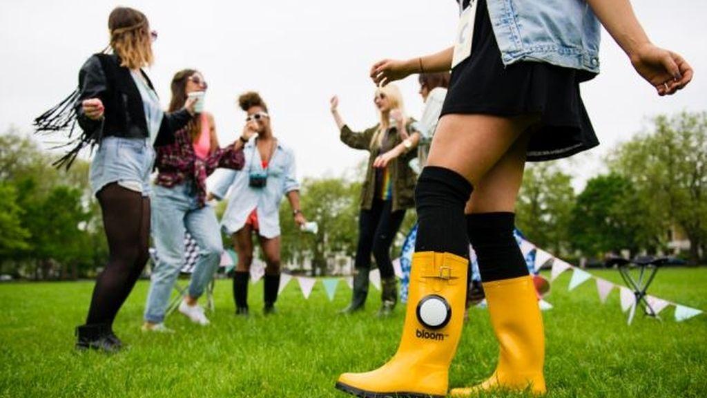 ¡Llegan las botas con altavoces incorporados!
